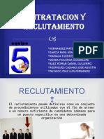 CONTRATACION Y Reclutamiento Adm.