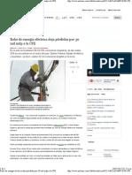 15-05-12 Robo de energía eléctrica deja pérdidas por 30 mil mdp a la CFE
