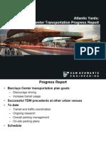 2012 01 26 Transportation Progress Report