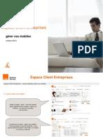 Guide Utilisateur Orange Gerer