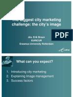 The biggest city marketing challenge