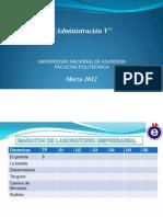 Administracion V Marzo 2012