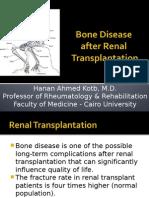 Final 2 Bone Disease After Kidney Transplantation