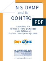 Rising Damp and Its Control DRYZONE