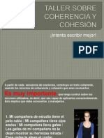 Taller coherencia y cohesión 2012
