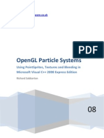 OpenGL - Particle System Tutorial - Blending - Point Sprites