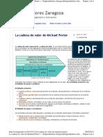 Yoemprendo.es 2011-01-11 La Cadena de Valor de Michael p