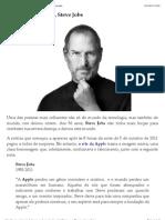 Jovem Nerd » Blog Archive » Faleceu, aos 56 anos, Steve Jobs