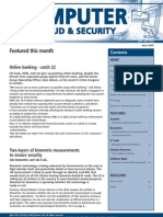 Audit - Computer Fraud and Security (April 2005) - Elsevier