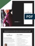 Michelle Lang Fellowship 2012 Brochure