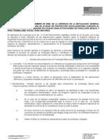 Ayuda Podologia y Termalismo 2009