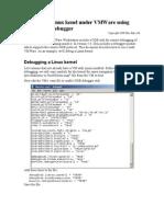 IDA+VMWare - Linux Debugger
