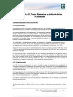 Lectura 6 - El Poder Ejecutivo y Judicial de Las Pro Vinci As