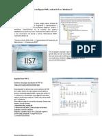 Como Configurar PHP y Sobre IIS 7 en Windows 7 ESEC Dic2010