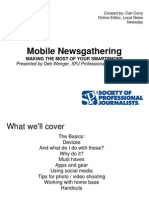 Mobile News Gathering SPJ-Phoenix