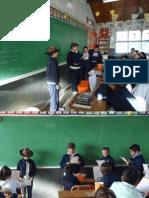 PROYECTO DE COMUNICACIÓN MANOS QUE HABLAN OBRA DE TEATRO 5ºD