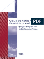 Cloud Benefits SandHill