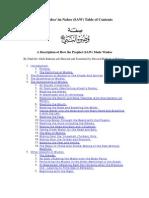 A Description of How the Prophet