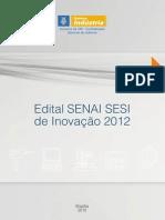 Edital Inovacao Senai Sesi 2012 Web