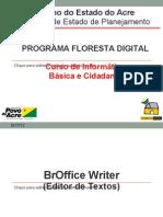 Aula 08 - BrOffice Writer Editor de Texto