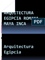 Arquitectura Egipto Roma Maya Inca