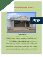 Proyecto Agentes Formadores de Paz.