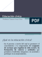 Educacion Civica Chile