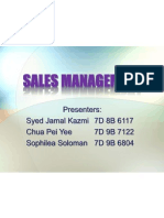 Sales Management Presentation
