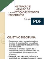 ORGANIZACAO EVENTOS ESPORTIVOS