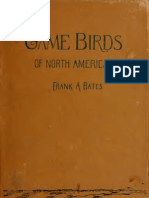 Bates-Game Birds of North America 1896