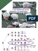 CLASE N° 32 USUARIO CON TRANSTORNOS DE LAS PLAQUETAS Y LA COAGULACIÒN MIÈRCOLES 25 ABRIL 2012 [Modo de compatibilidad]