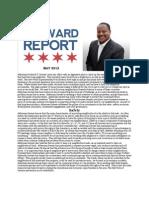 Alderman Sawyer's First Year Report