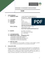 Silabo Plan Academico de Tics[1]