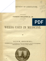 Henkel-Weeds Used in Medicine 1917