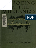 Thoreau-Canoeing in the Wilderness 1916