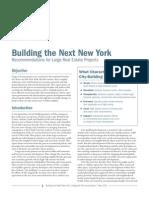 RPA Building the Next NY