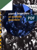 Bourdieu, Pierre - El Sentido Practico