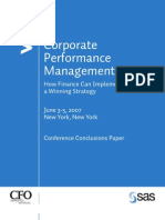 Corporate Performance Mgt