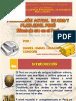 Produccion de Oro y Plata en El Peru by Daniel Limache Condori