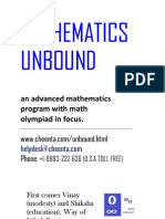 Mathematics Unbound