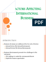 Factors Affecting IB
