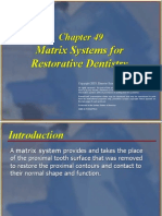 Dental Matrices Types