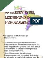 ANTECEDENTES DEL MODERNISMO EN HISPANOAMÈRICA (1)