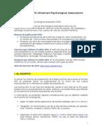 Formato APA - Enero 2011