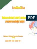 Diminuarea Deviantei Scolare La Adolescenti-Catalina Alisa