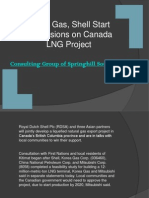Korea Gas Shell Start Discussions on Canada LNG Project
