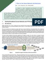 FTTN-FTTH Network Architectures R.halgren 12Nov07