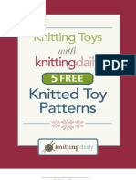5 Free Knitted Toys