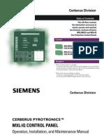 MXL-Control Panel Manual
