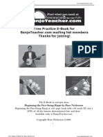 Banjoteacher.com Practice eBook
